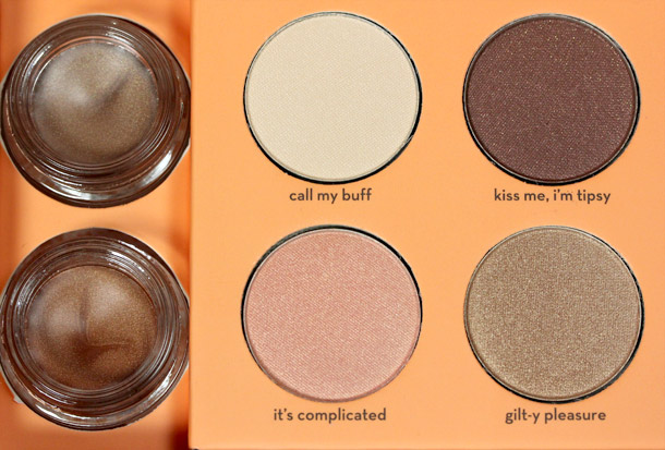 Benefit World Famous Neutrals Eyenessas Most Glamorous Nudes Ever closeup