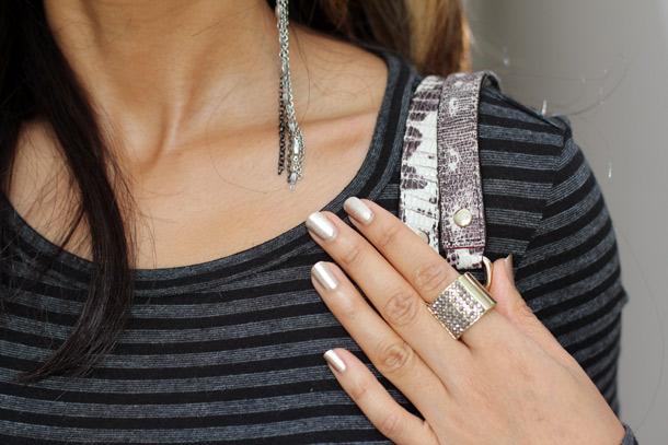 Sonia Kashuk Precious Gems Lip, Liner & Nail Set Nail Polish in Golden Ticket