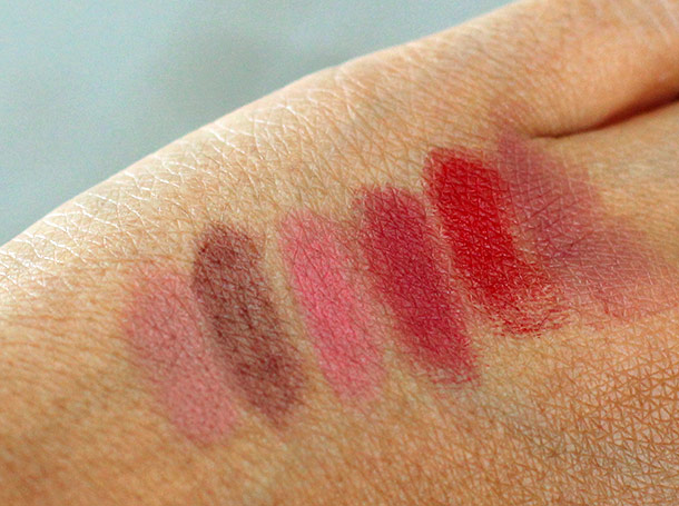 albeit lipsticks swatches