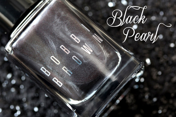 Bobbi Brown Shimmer Nail Polish in Black Pearl