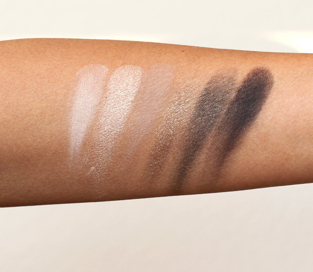 Bobbi Brown Rich Caviar Eye Palette Swatches