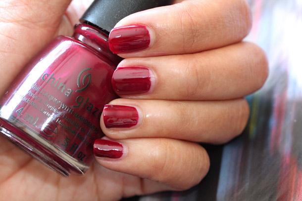 china glaze merry berry
