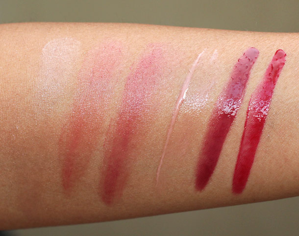 korres the lip blockbuster swatches