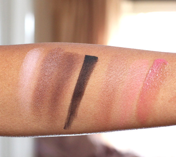 laura mercier colour to go warm neutrals swatches