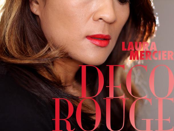 Laura Mercier Creme Smooth Lip Colour in Deco Rouge ($26)
