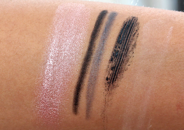 make up for ever all eyes on you swatches