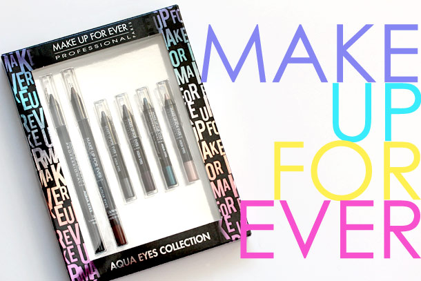 Make Up For Ever Aqua Eyes Collection