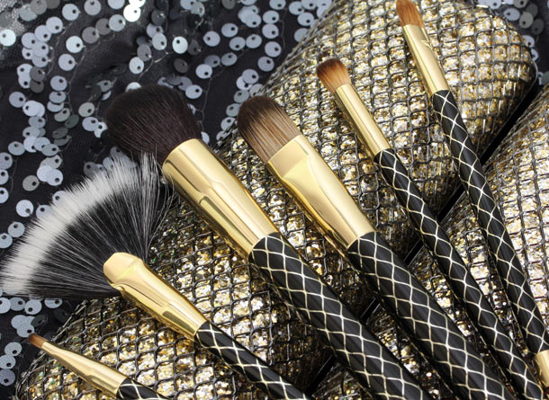 sonia kashuk gilded cage holiday brush set 3