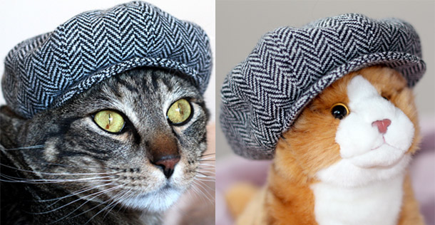 tabs versus marmalade: the tweed newsboy cap