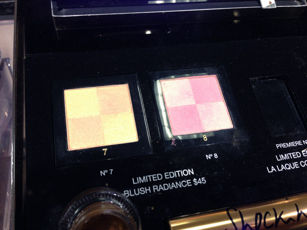 yves saint laurent northern lights blush radiance no 7 8
