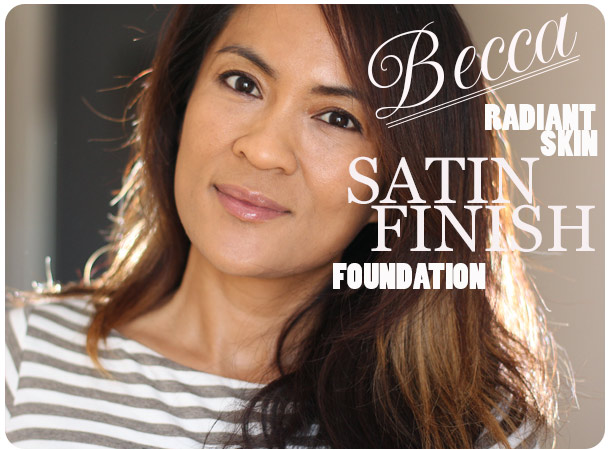 becca radiant skin foundation review