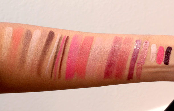 chanel printemps precieux de chanel swatches