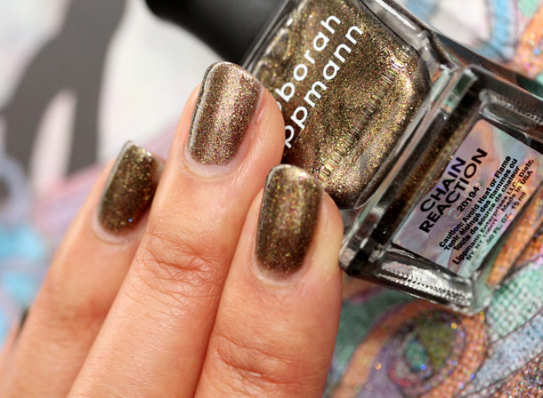 deborah lippmann chain reaction swatch