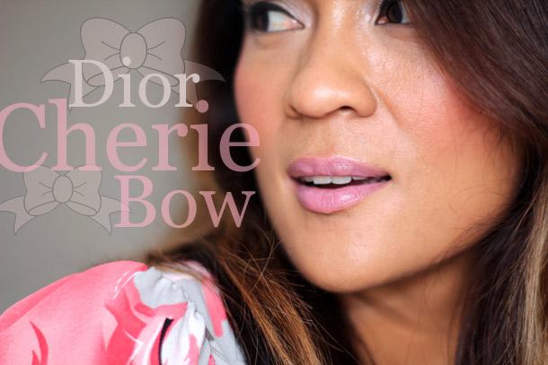 dior cherie bow candide addict lipstick