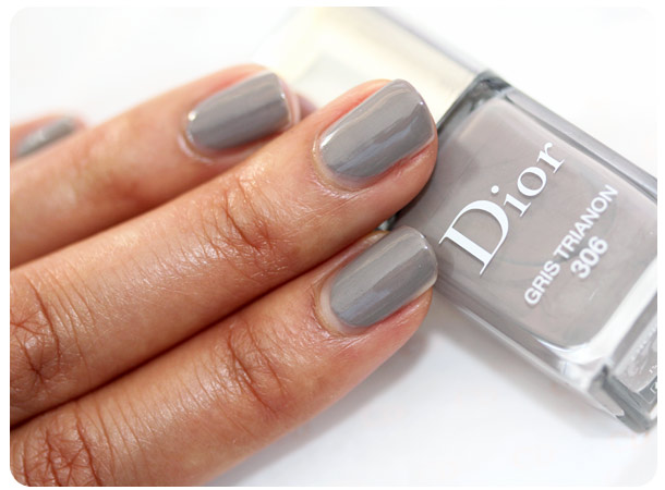 dior cherie bow gris trianon swatch