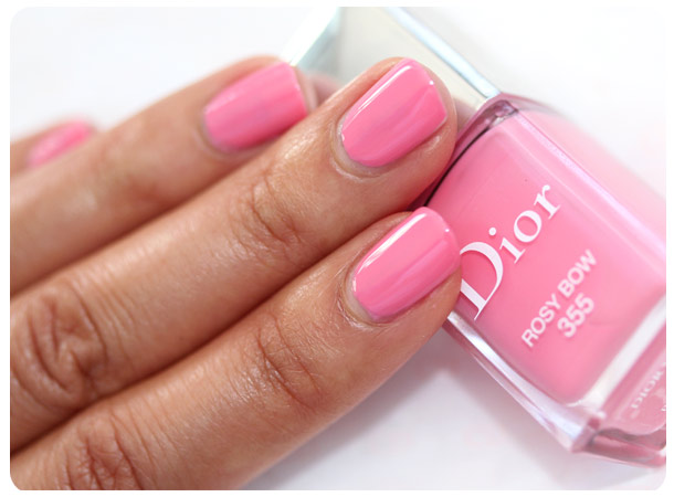 dior cherie bow rosy bow swatch