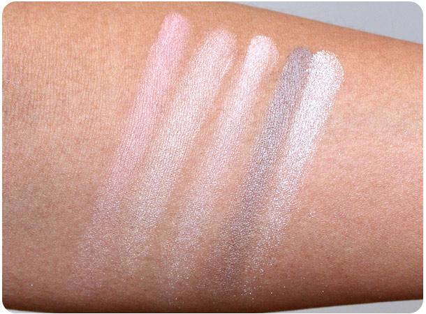 Dior 5-Couleurs Eyeshadow in Rose Ballerine #724 swatches