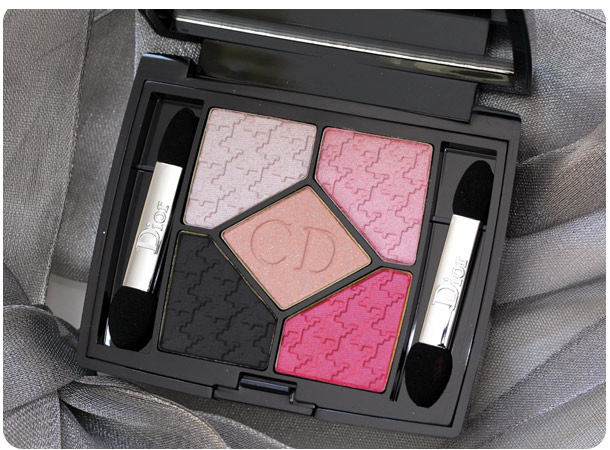 dior rose charmeuse 854 cherie bow edition 5 couleurs palette