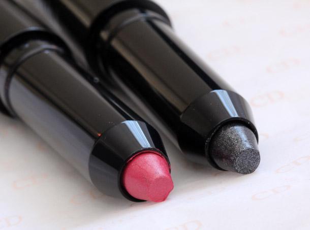 dior twin set eyeshadow duo ballerina pink grey sigh stick eyeshadow 3