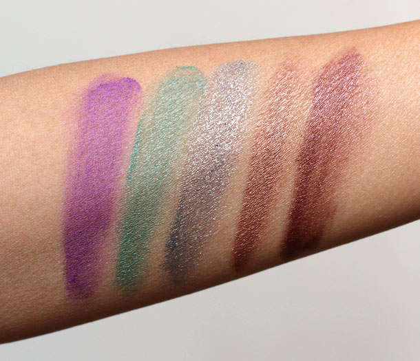 estee lauder stay on shadow paints swatches