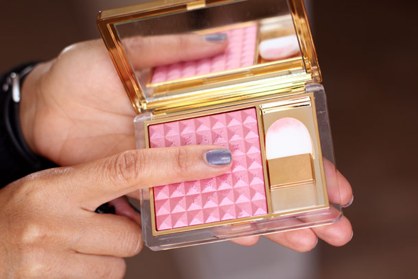 Estée Lauder's $40 Pure Color Illuminating Powder Gelée Blush in Tease