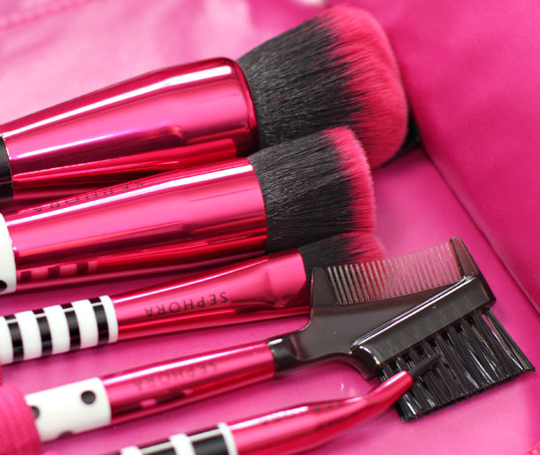 sephora collection izak brush set