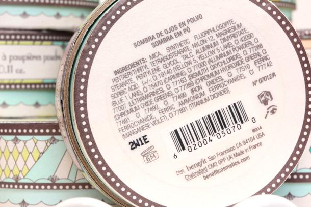 Benefit Longwear Powder Shadow ingredients