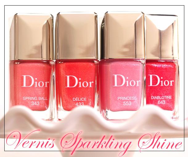 Glitter Dust Glistens in These Dior Vernis Sparkling Shine Nail ...