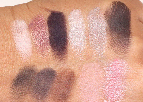 Laura Mercier Luxe Colour Portfolio Swatches