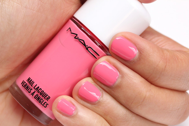MAC Comic Cute Nail Lacquer Swatch