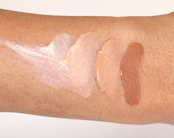 Tarte BB Tinted Treatment swatches