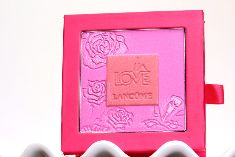 Lancome Blush in Love in Reds