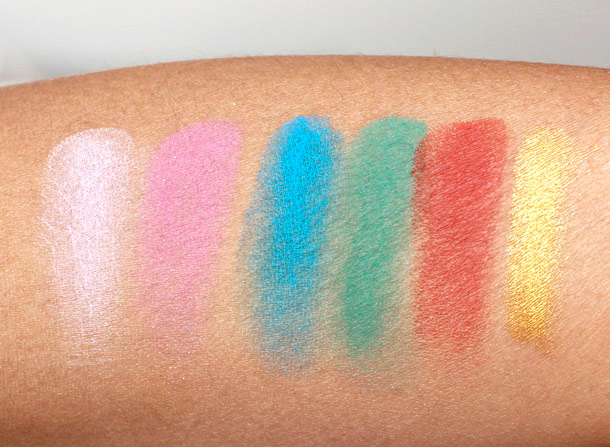 nars spring 2013 swatches