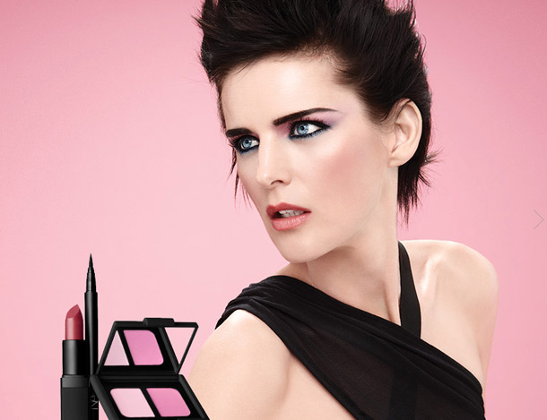 NARS Spring 2013 and model Stella Tennant