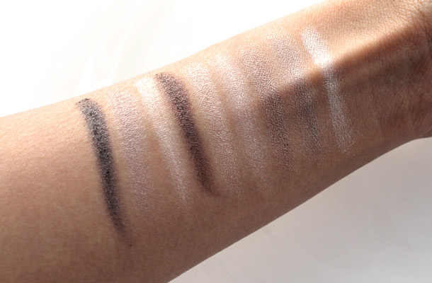 physicians formula shimmer strips classic nude swatches