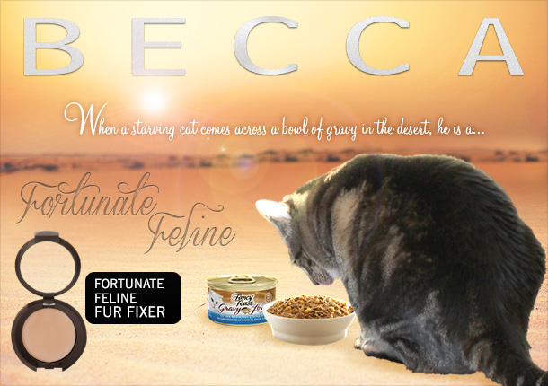 Tabs for BECCA Fortunate Feline