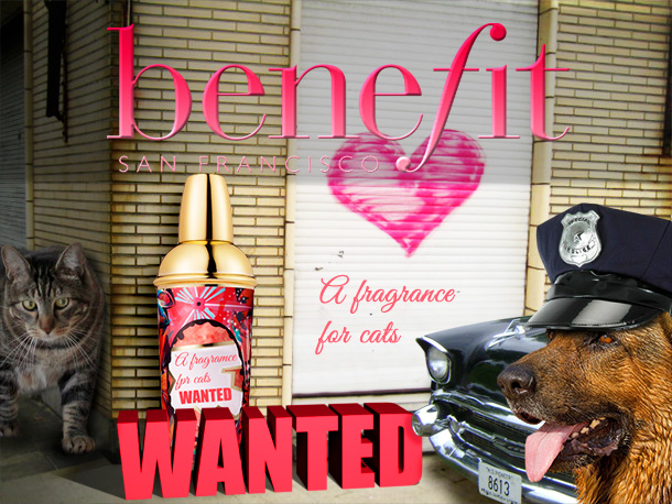 Tabs for Benefit Wanted Feline Fragrance