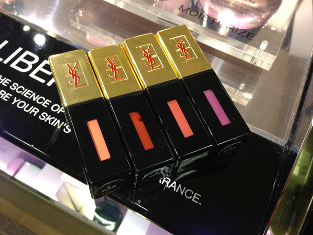 ysl spring 2013 makeup collection gloss