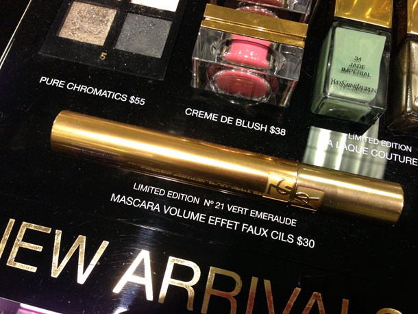 ysl spring 2013 makeup collection mascara
