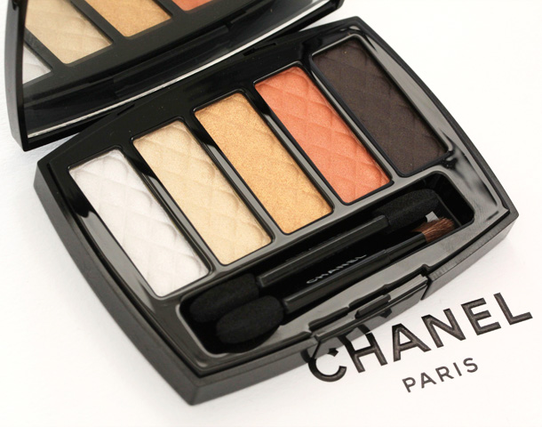 Chanel Pearl River Ombres Matelassees Eyeshadow Palette Picture