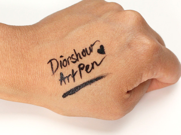 Dior Diorshow Art Pen Swatch