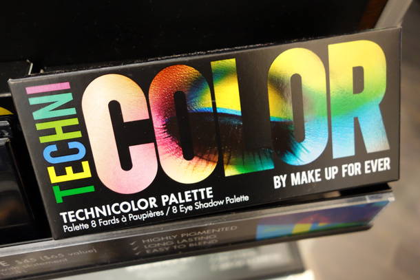 Make Up For Ever Technicolor Palette Box front