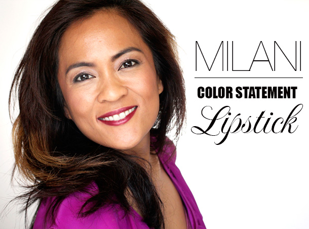 Milani Color Statement Lipstick in Chilled Brandy