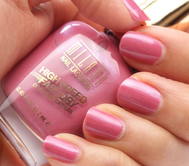 Milani High Speed Fast Dry in Move On Mauve Swatch