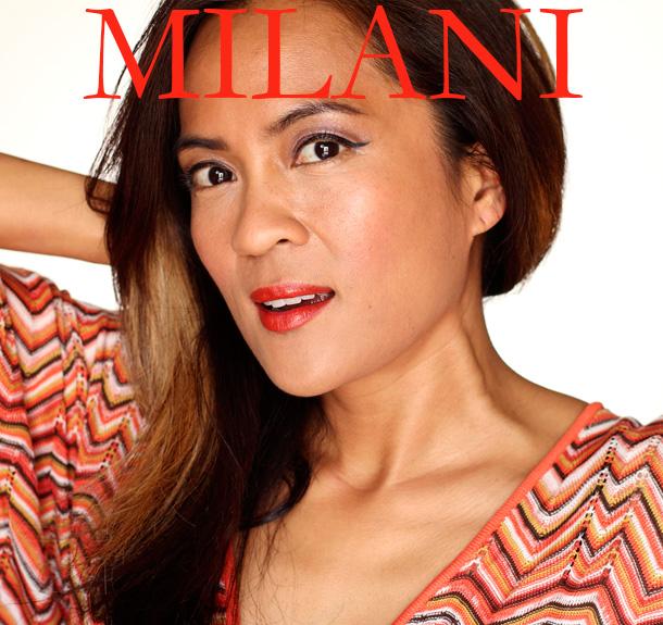 Milani Orange-Gina Color Statement Lipstick Swatch