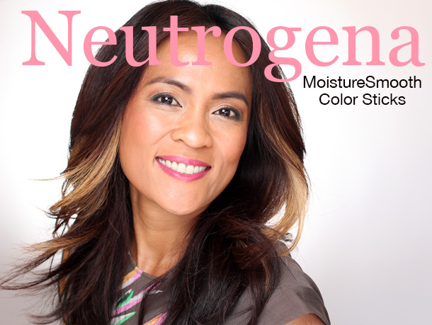 Neutrogena MoistureSmooth Color Stick Bright Berry 40