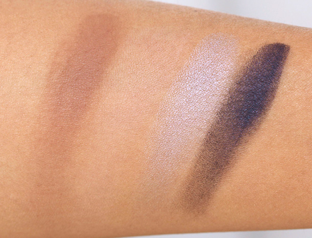 Aerin Beauty A Garden at Dusk Palette Swatches