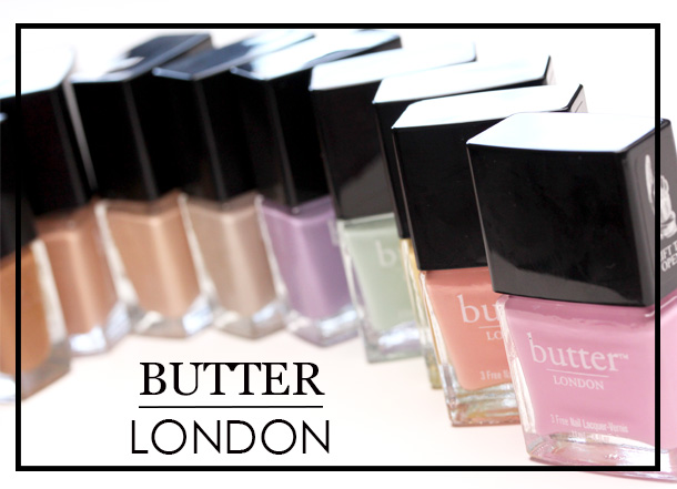 Butter London Sweetie and Starkers Spring 2013 Collections