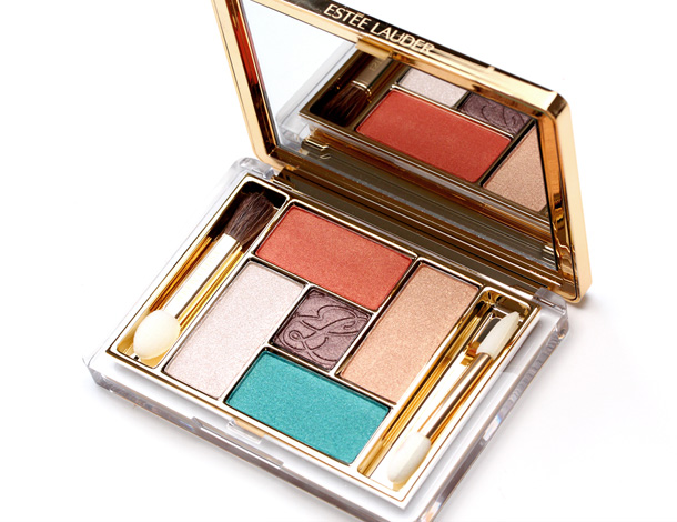 Estée Lauder Pure Color Gelee Powder EyeShadow Palette in Batik Sun small