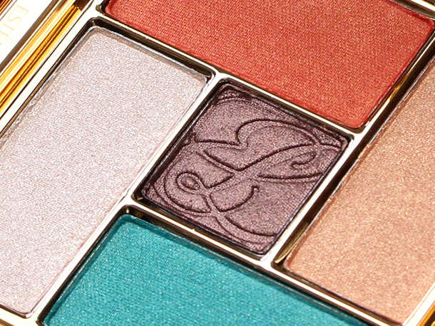 Estée Lauder Pure Color Gelee Powder EyeShadow Palette in Batik Sun closeup